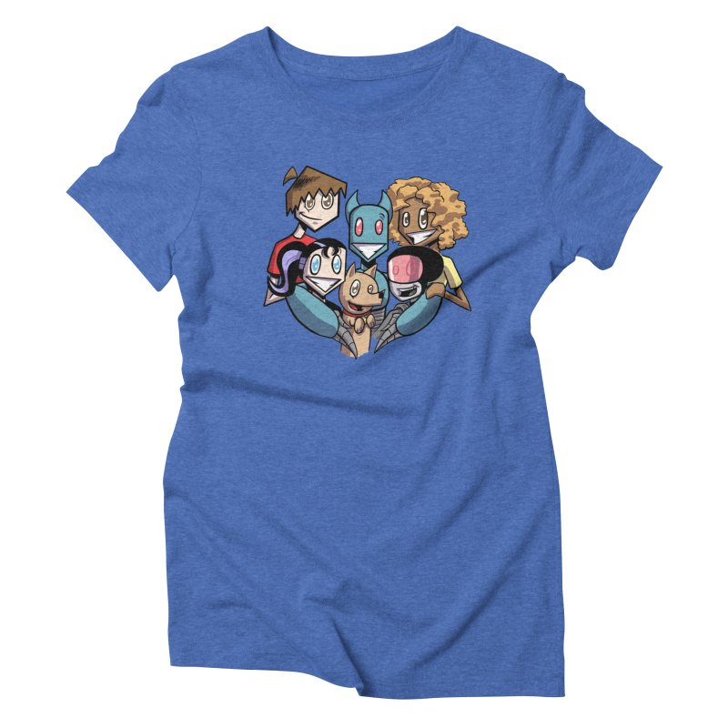 10th Anniversary! Women's Triblend T-Shirt by The Transypoo Tee Shirt Shop!