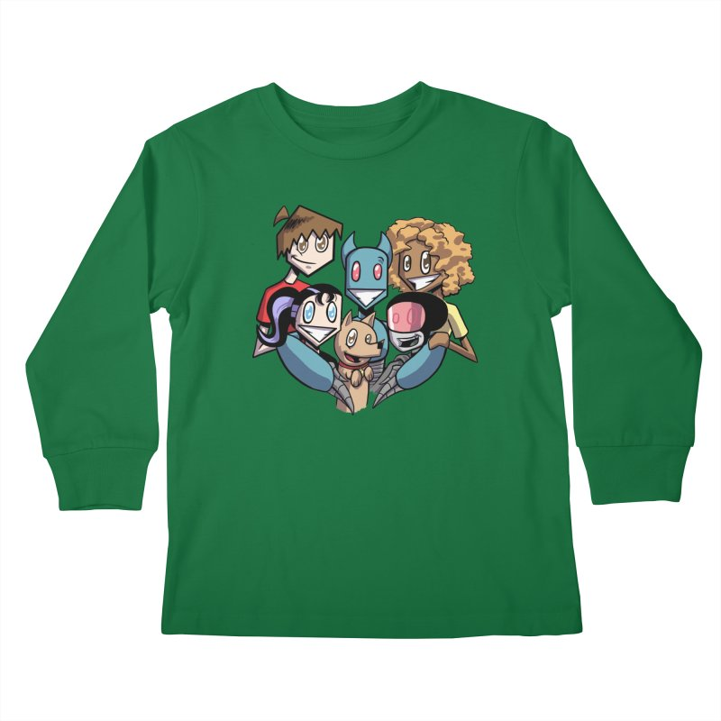 10th Anniversary! Kids Longsleeve T-Shirt by The Transypoo Tee Shirt Shop!