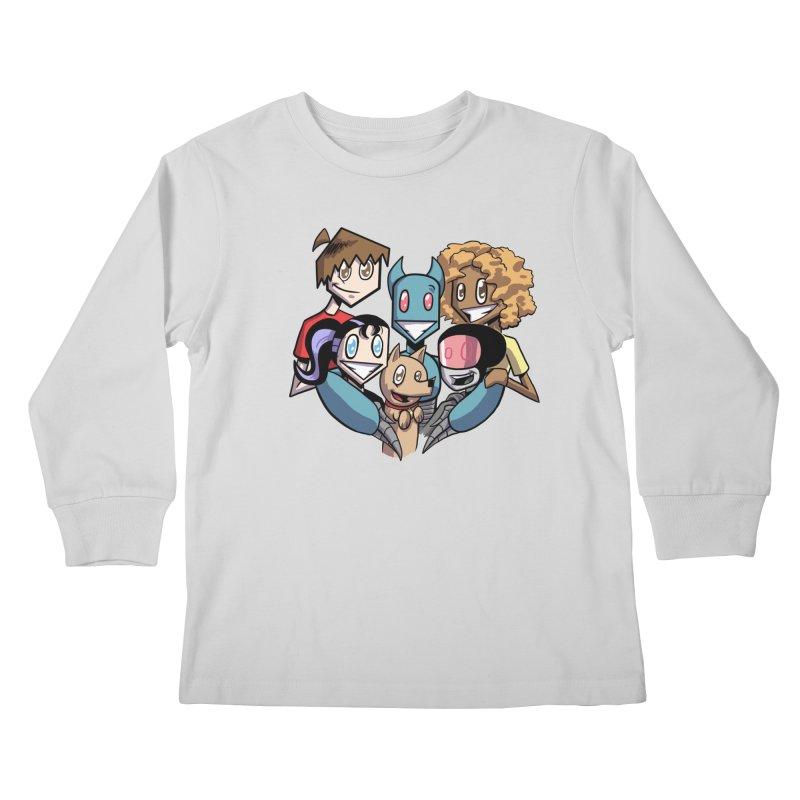 10th Anniversary! Kids Longsleeve T-Shirt by The Transypoo Tee Shirt Shop!