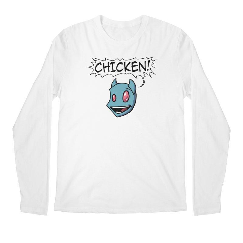 CHICKEN! Men's Longsleeve T-Shirt by The Transypoo Tee Shirt Shop!