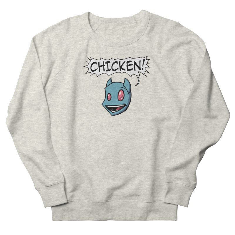 CHICKEN! Men's French Terry Sweatshirt by The Transypoo Tee Shirt Shop!