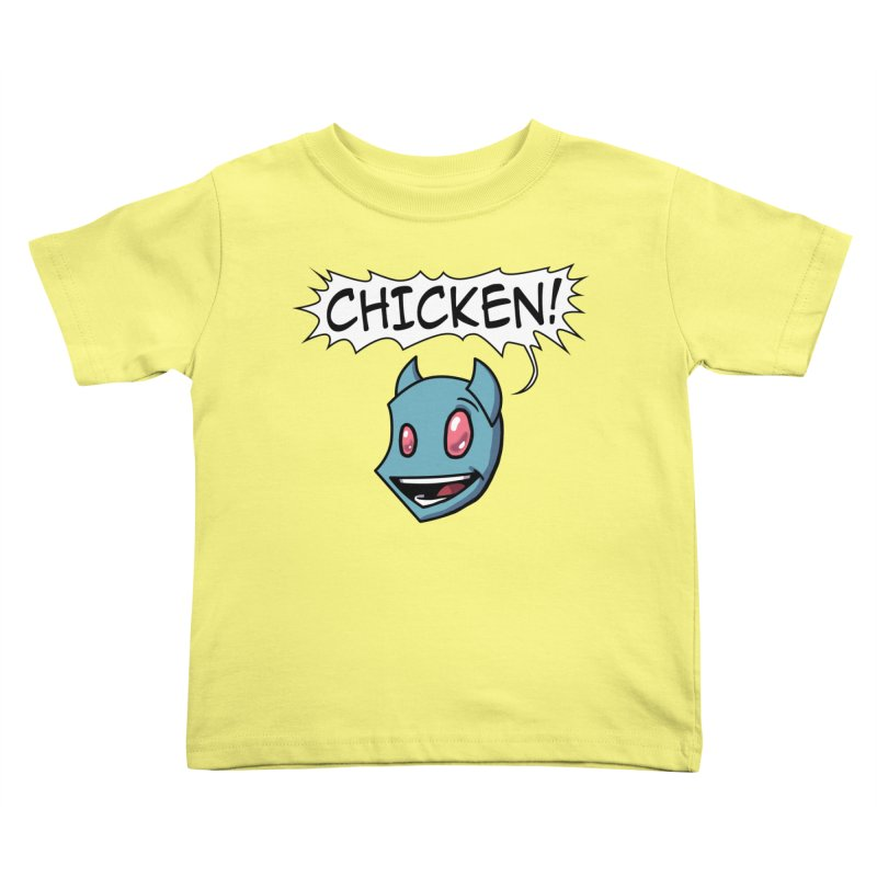 CHICKEN! Kids Toddler T-Shirt by The Transypoo Tee Shirt Shop!