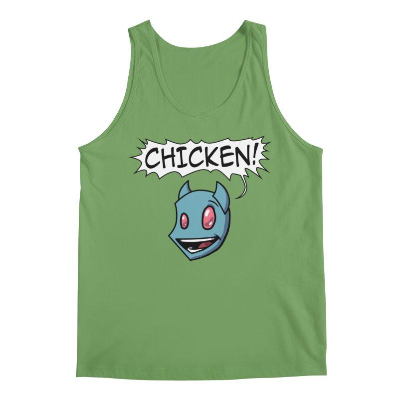 CHICKEN! Men's Tank by The Transypoo Tee Shirt Shop!