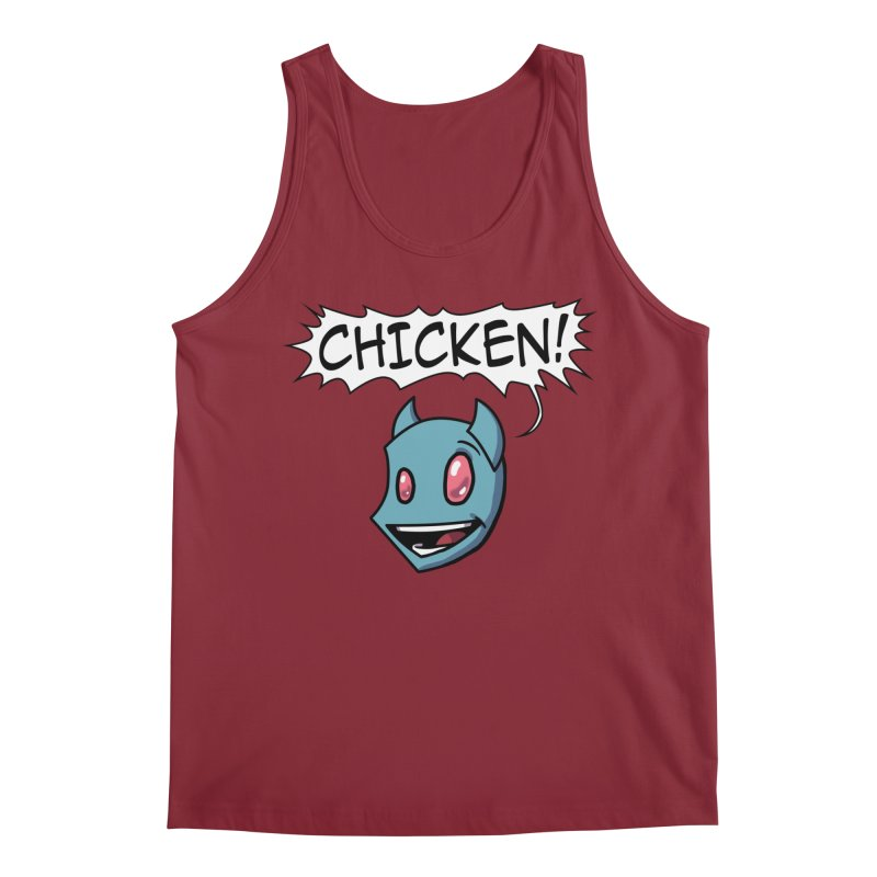 CHICKEN! Men's Regular Tank by The Transypoo Tee Shirt Shop!