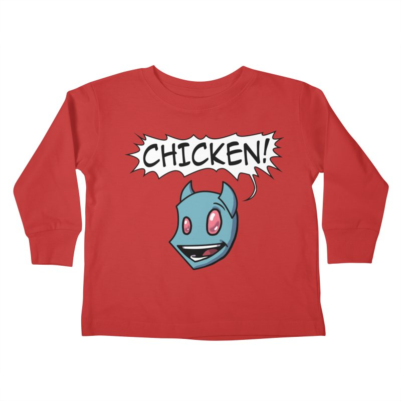 CHICKEN! Kids Toddler Longsleeve T-Shirt by The Transypoo Tee Shirt Shop!