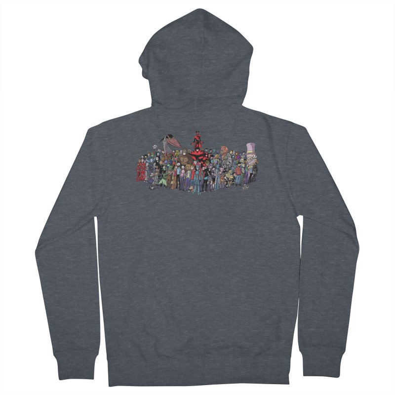 Transypoo: Everyone! Men's French Terry Zip-Up Hoody by The Transypoo Tee Shirt Shop!