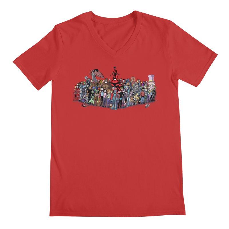 Transypoo: Everyone! Men's Regular V-Neck by The Transypoo Tee Shirt Shop!