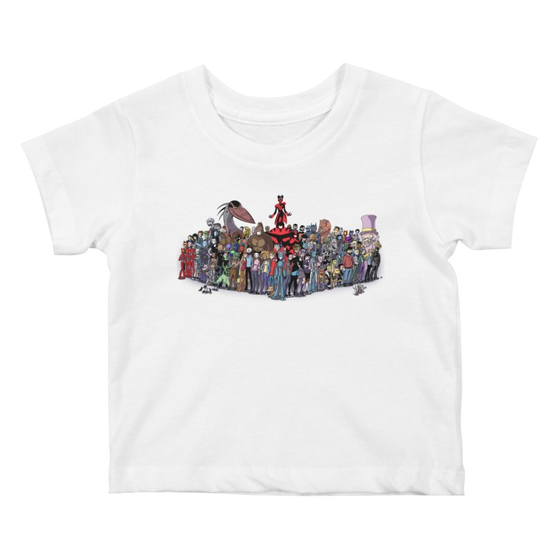 Transypoo: Everyone! Kids Baby T-Shirt by The Transypoo Tee Shirt Shop!