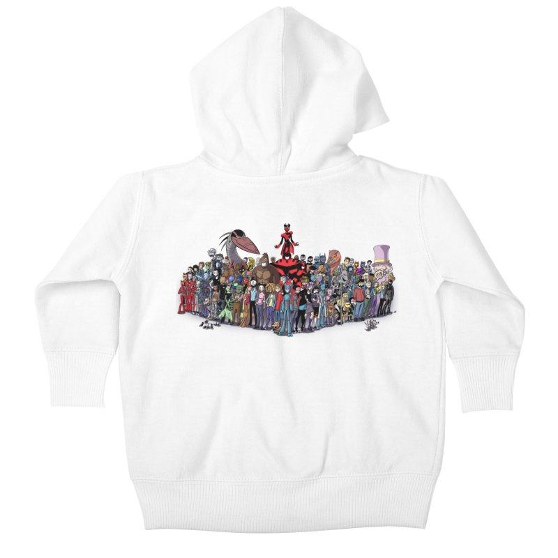 Transypoo: Everyone! Kids Baby Zip-Up Hoody by The Transypoo Tee Shirt Shop!