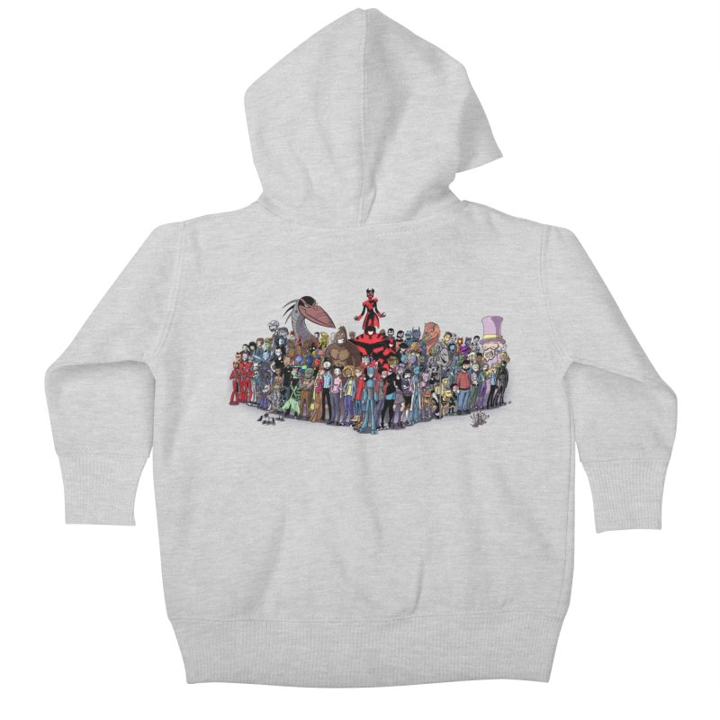 Transypoo: Everyone! Kids Baby Zip-Up Hoody by The Transypoo Tee Shirt Shop!