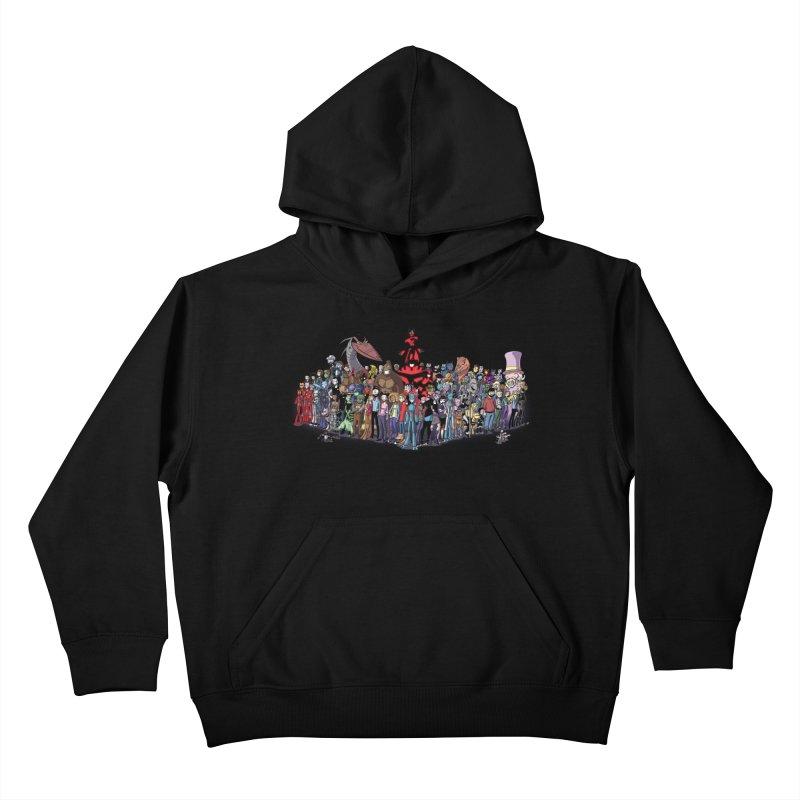 Transypoo: Everyone! Kids Pullover Hoody by The Transypoo Tee Shirt Shop!