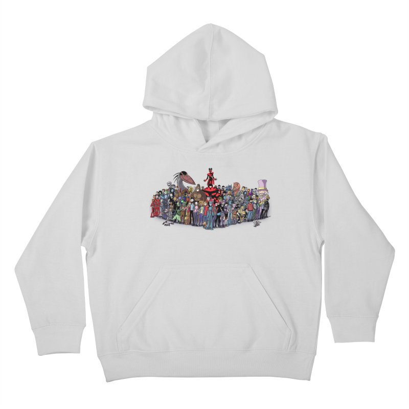 Transypoo: Everyone! Kids Pullover Hoody by The Transypoo Tee Shirt Shop!