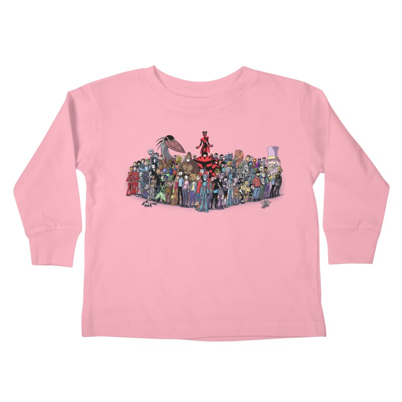 Transypoo: Everyone! Kids Toddler Longsleeve T-Shirt by The Transypoo Tee Shirt Shop!