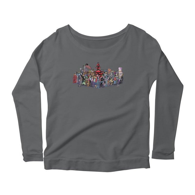 Transypoo: Everyone! Women's Scoop Neck Longsleeve T-Shirt by The Transypoo Tee Shirt Shop!