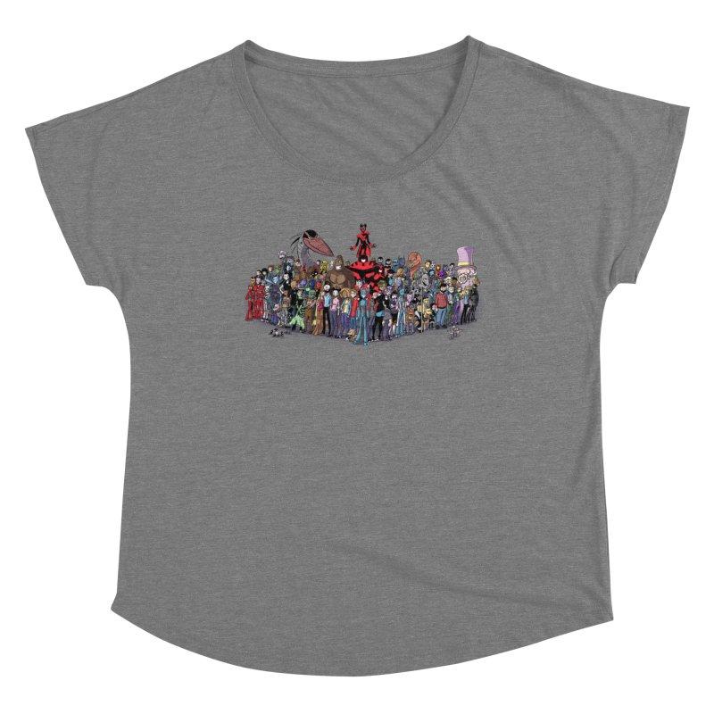 Transypoo: Everyone! Women's Scoop Neck by The Transypoo Tee Shirt Shop!