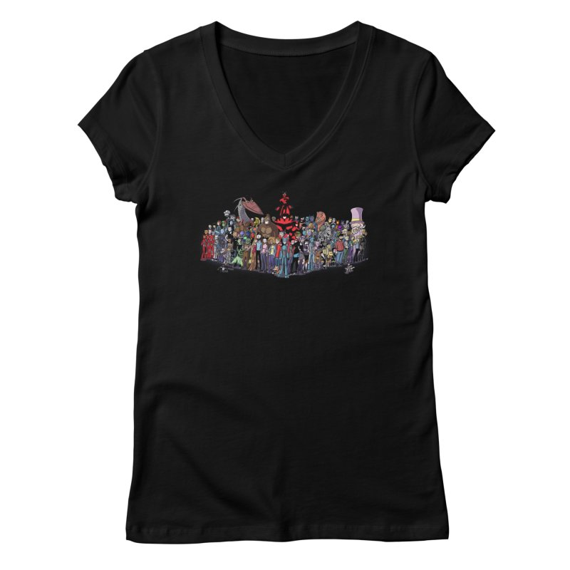 Transypoo: Everyone! Women's V-Neck by The Transypoo Tee Shirt Shop!