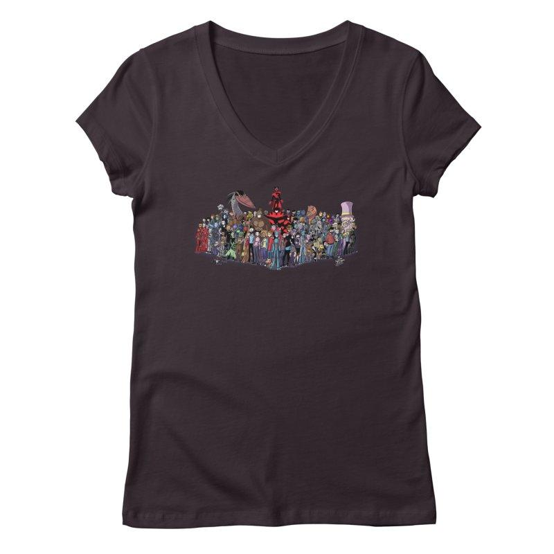 Transypoo: Everyone! Women's Regular V-Neck by The Transypoo Tee Shirt Shop!