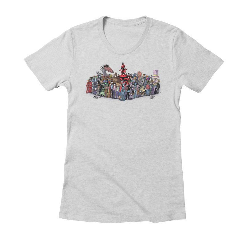 Transypoo: Everyone! Women's Fitted T-Shirt by The Transypoo Tee Shirt Shop!