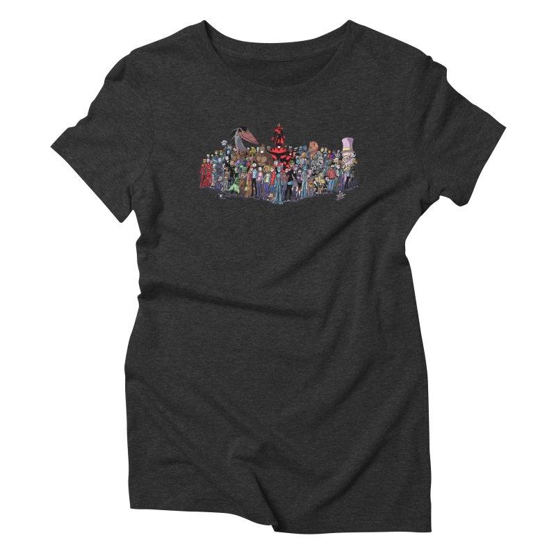 Transypoo: Everyone! Women's Triblend T-Shirt by The Transypoo Tee Shirt Shop!
