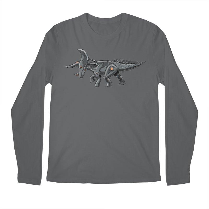 Tricerabot Men's Longsleeve T-Shirt by The Transypoo Tee Shirt Shop!