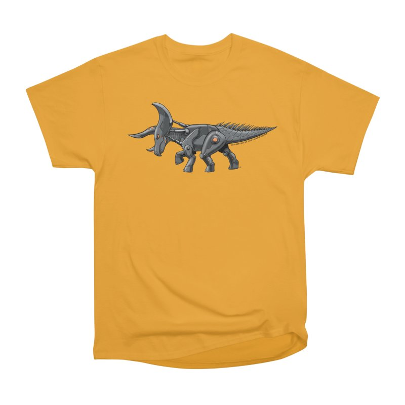 Tricerabot Men's Heavyweight T-Shirt by The Transypoo Tee Shirt Shop!