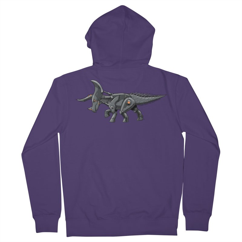 Tricerabot Women's French Terry Zip-Up Hoody by The Transypoo Tee Shirt Shop!