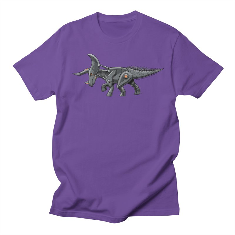 Tricerabot Women's Regular Unisex T-Shirt by The Transypoo Tee Shirt Shop!