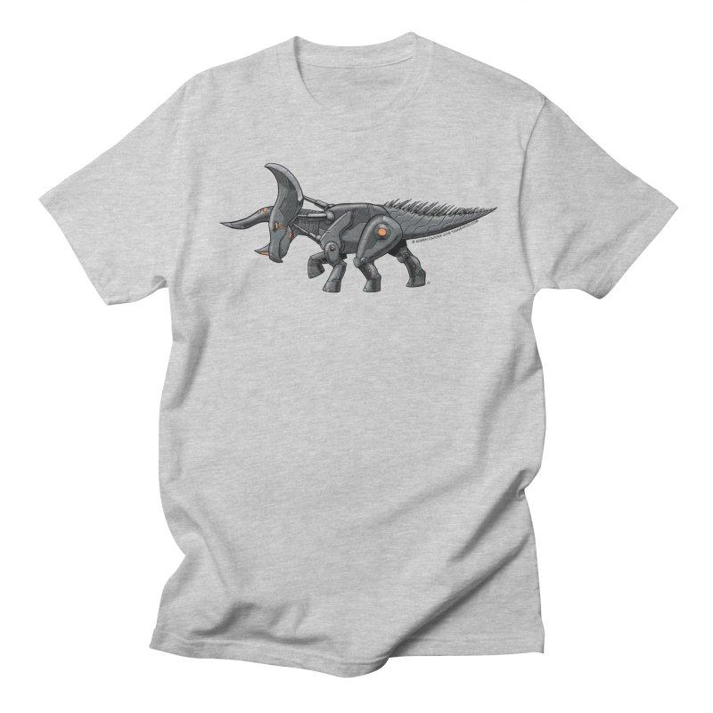 Tricerabot Men's Regular T-Shirt by The Transypoo Tee Shirt Shop!