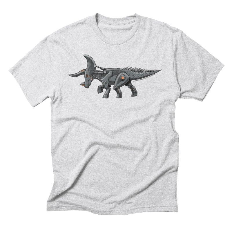 Tricerabot Men's Triblend T-Shirt by The Transypoo Tee Shirt Shop!