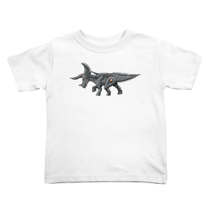 Tricerabot Kids Toddler T-Shirt by The Transypoo Tee Shirt Shop!
