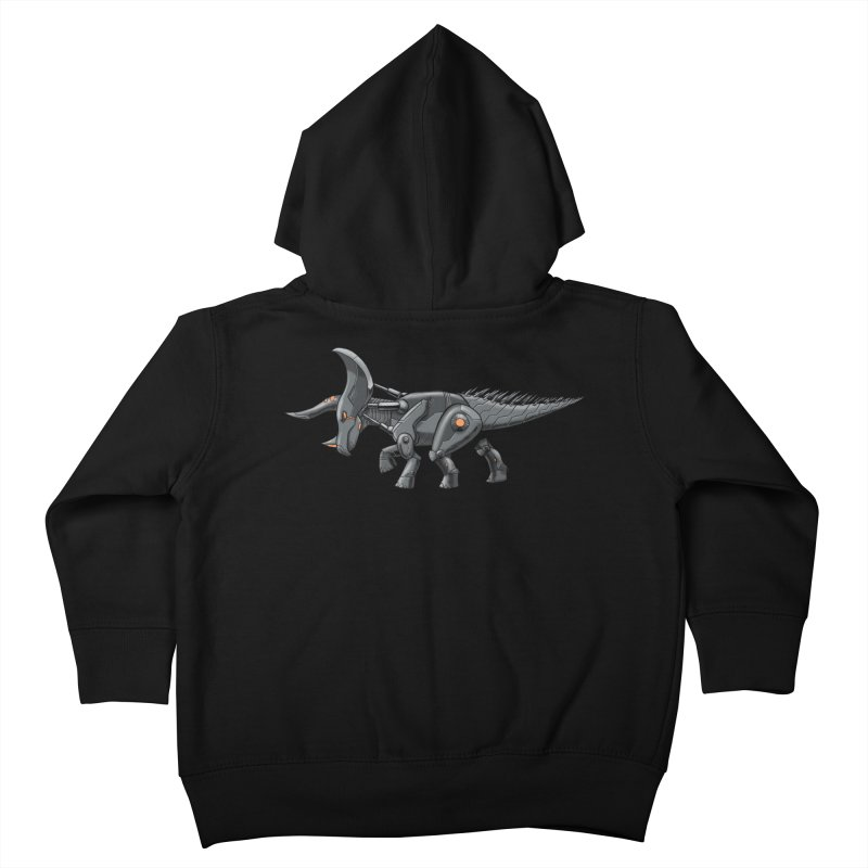 Tricerabot Kids Toddler Zip-Up Hoody by The Transypoo Tee Shirt Shop!