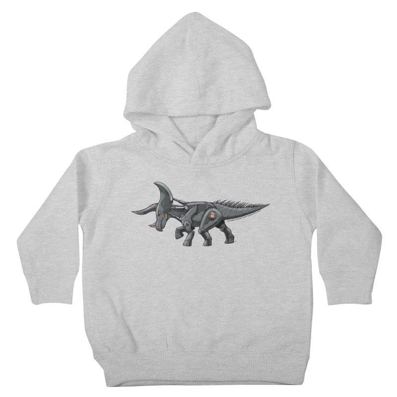 Tricerabot Kids Toddler Pullover Hoody by The Transypoo Tee Shirt Shop!