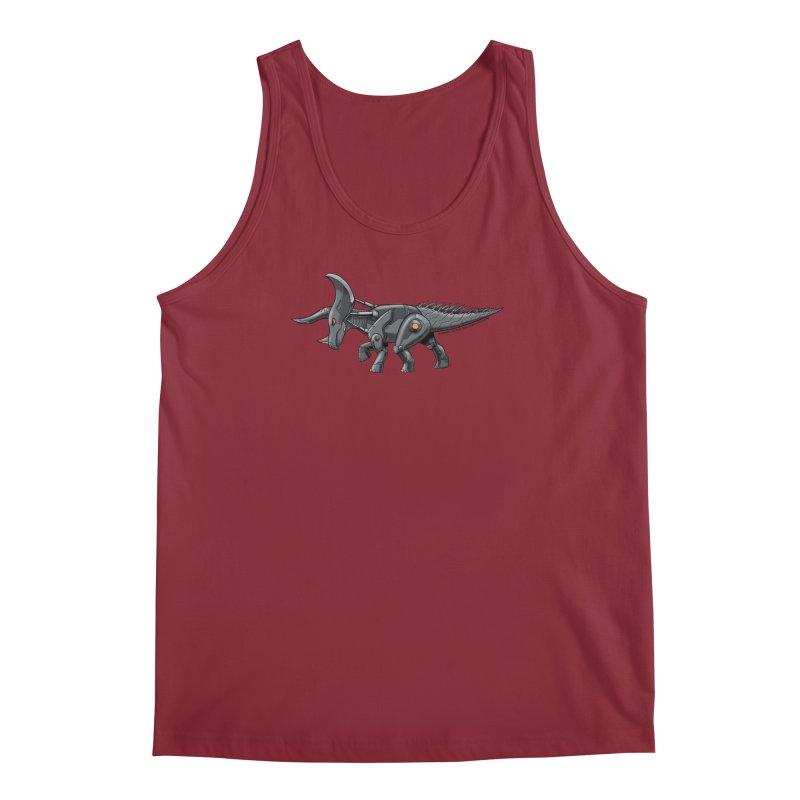 Tricerabot Men's Regular Tank by The Transypoo Tee Shirt Shop!