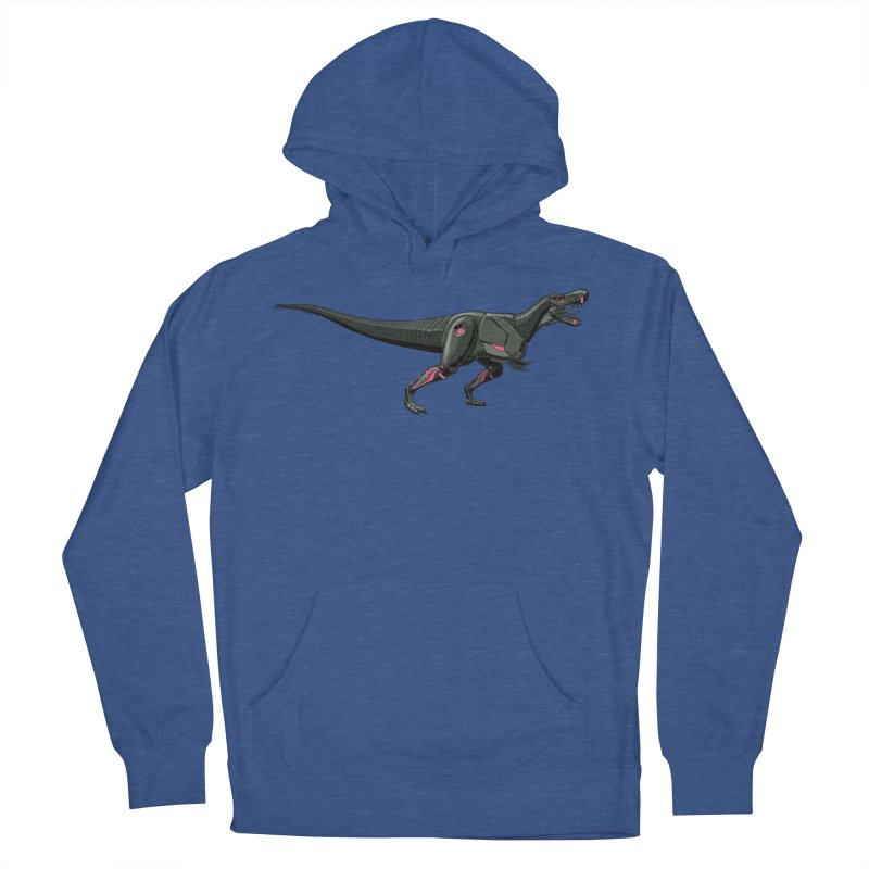 Robosaurus-Rex Women's French Terry Pullover Hoody by The Transypoo Tee Shirt Shop!