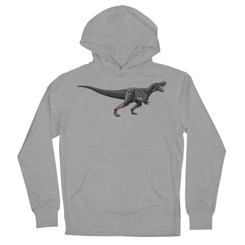 Robosaurus-Rex Women's French Terry Pullover Hoody by The Transypoo Tee Shirt Shop!