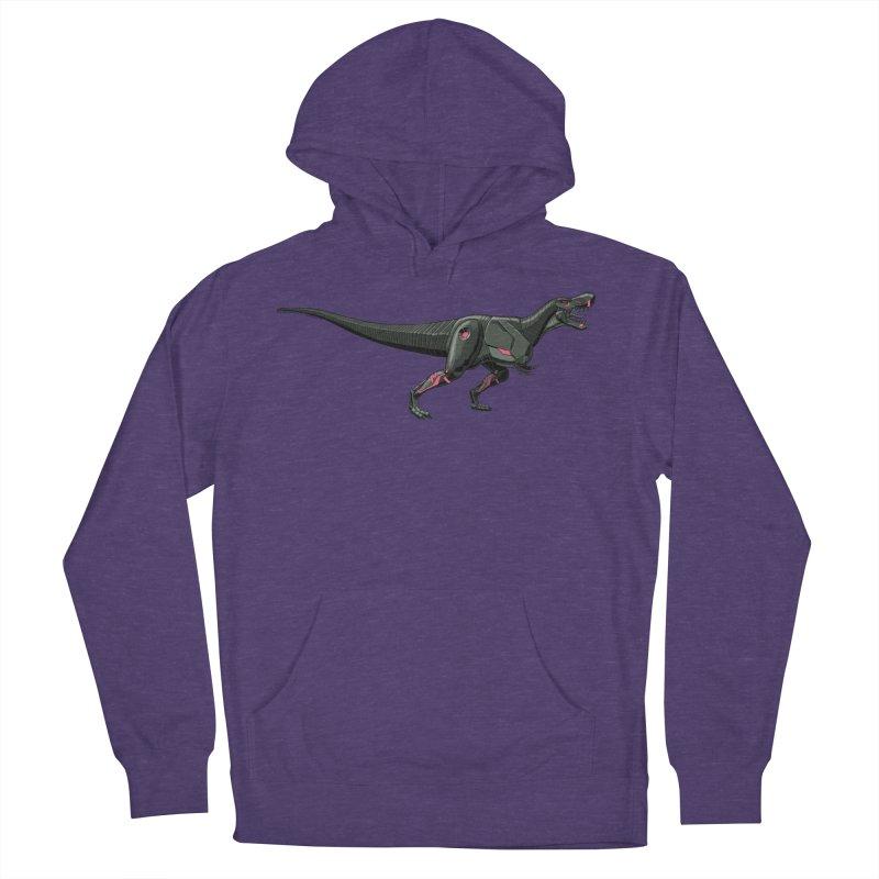 Robosaurus-Rex Men's French Terry Pullover Hoody by The Transypoo Tee Shirt Shop!