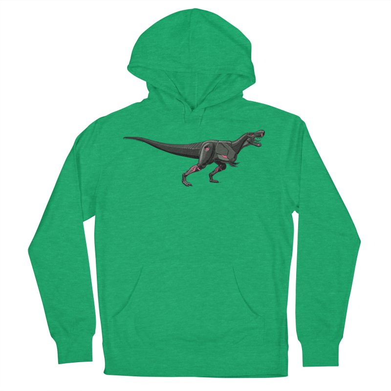 Robosaurus-Rex Men's French Terry Pullover Hoody by The Transypoo Tee Shirt Shop!