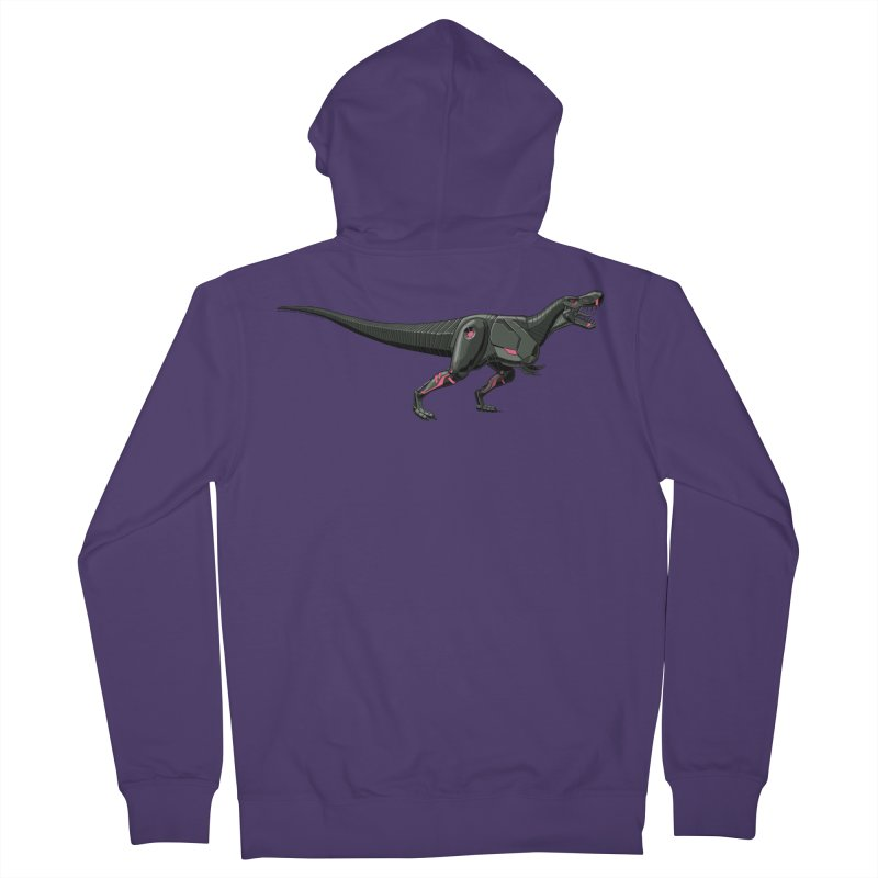 Robosaurus-Rex Women's French Terry Zip-Up Hoody by The Transypoo Tee Shirt Shop!