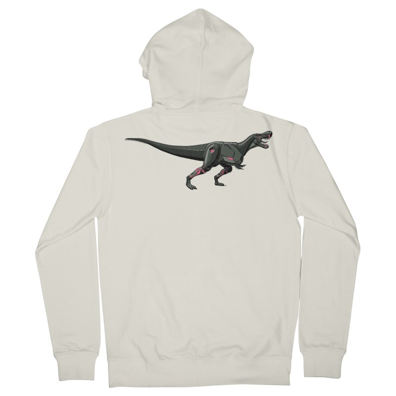 Robosaurus-Rex Women's French Terry Zip-Up Hoody by The Transypoo Tee Shirt Shop!