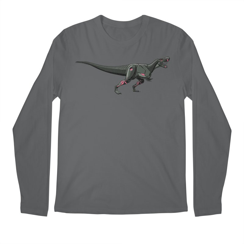 Robosaurus-Rex Men's Longsleeve T-Shirt by The Transypoo Tee Shirt Shop!
