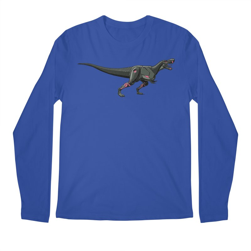 Robosaurus-Rex Men's Regular Longsleeve T-Shirt by The Transypoo Tee Shirt Shop!