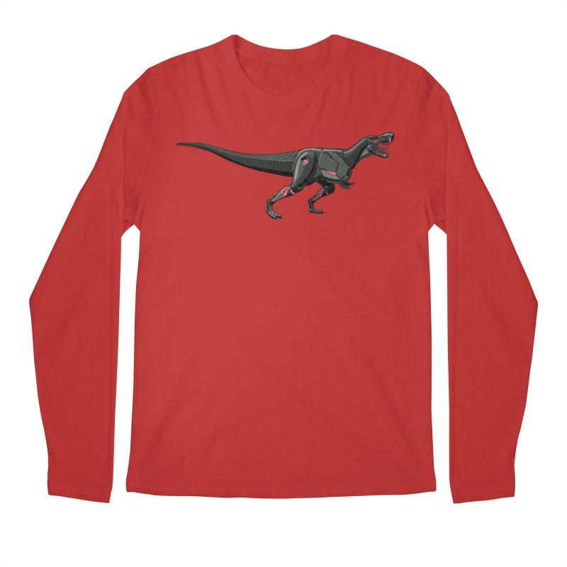 Robosaurus-Rex Men's Regular Longsleeve T-Shirt by The Transypoo Tee Shirt Shop!
