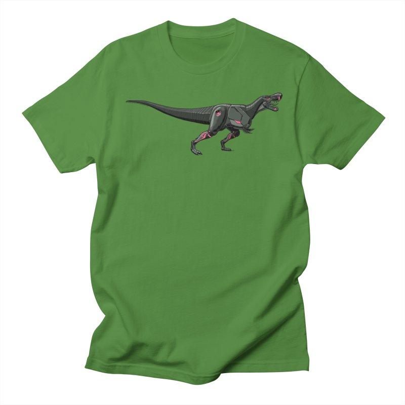 Robosaurus-Rex Women's Regular Unisex T-Shirt by The Transypoo Tee Shirt Shop!