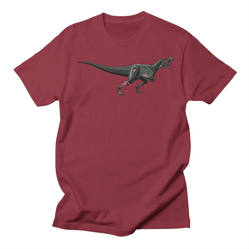 Robosaurus-Rex Women's Regular Unisex T-Shirt by The Transypoo Tee Shirt Shop!
