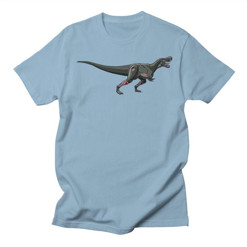Robosaurus-Rex Men's Regular T-Shirt by The Transypoo Tee Shirt Shop!