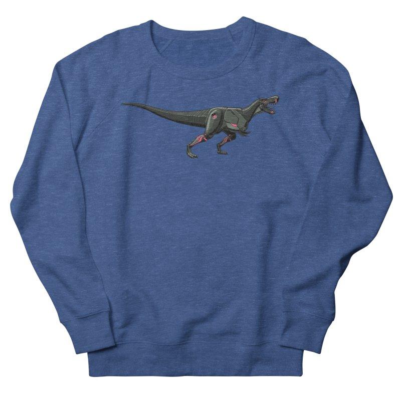 Robosaurus-Rex Women's French Terry Sweatshirt by The Transypoo Tee Shirt Shop!