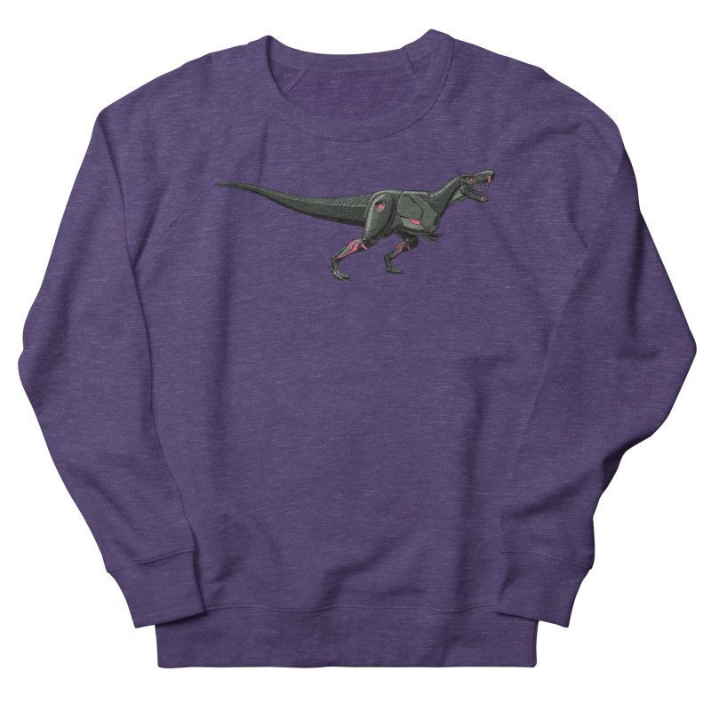 Robosaurus-Rex Women's French Terry Sweatshirt by The Transypoo Tee Shirt Shop!