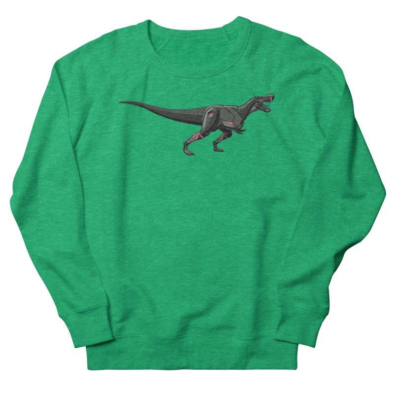 Robosaurus-Rex Men's French Terry Sweatshirt by The Transypoo Tee Shirt Shop!