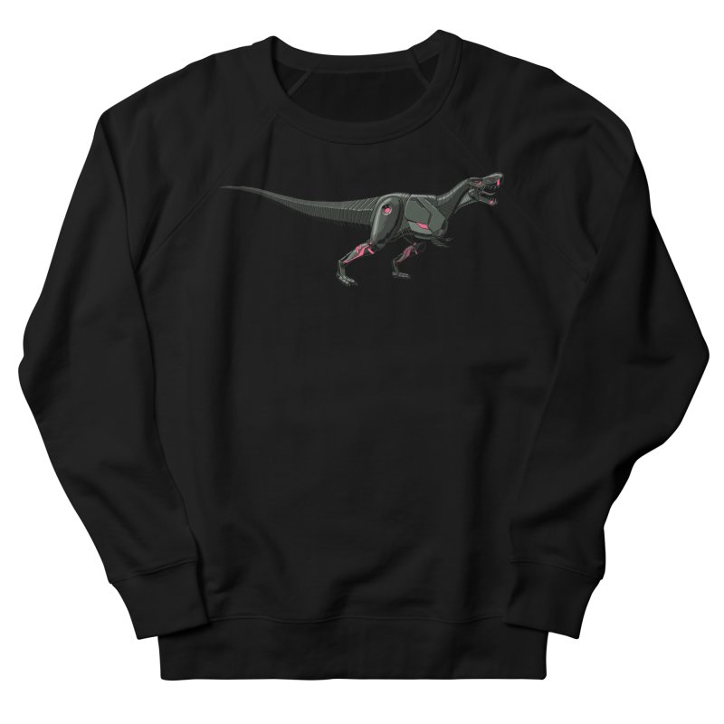 Robosaurus-Rex Men's French Terry Sweatshirt by The Transypoo Tee Shirt Shop!