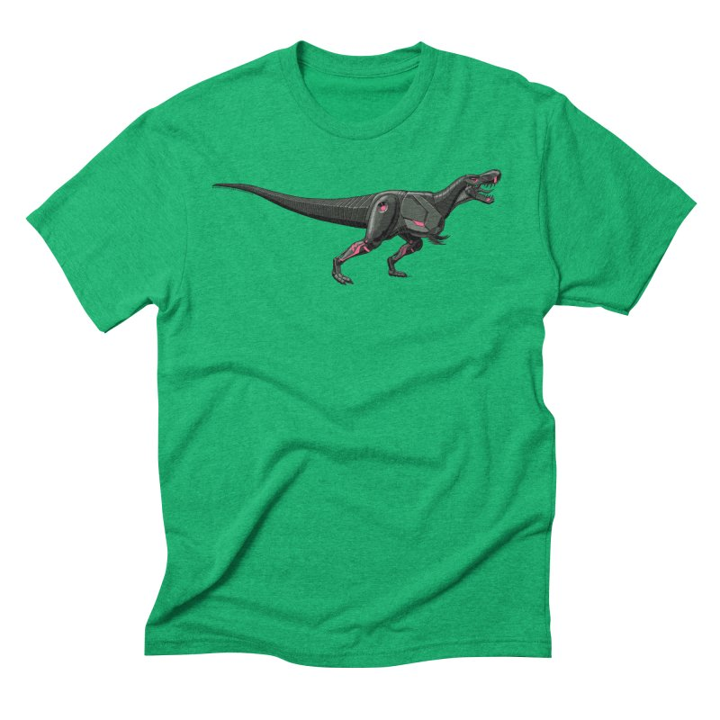Robosaurus-Rex Men's Triblend T-Shirt by The Transypoo Tee Shirt Shop!